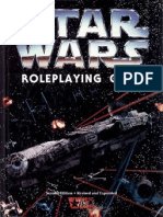 Star Wars D6 - The Role Playing Game 2nd Edition Rev n Ex OCR