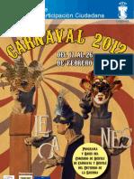 Carnaval Leganés 2012 Programa y Bases 2