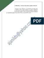 Lista de Exercícios de Hidráulica