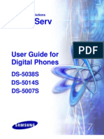 User Guide DS-5000S