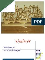 Unilever Presentaion