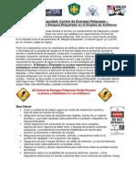 Alerta De Seguridad - Control de Energías Peligrosas (LOTO)