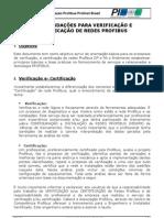 Verificações e Certificação de Redes Profibus