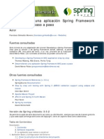 Desarrollando una aplicación Spring Framework MVC v3 + JPA paso a paso