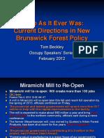 Occupy Talk Beckley