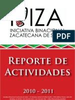 Reporte de IBIZA