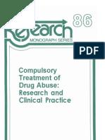 CompulsoryTxofDrugAbuseResearchandClinicalPractice