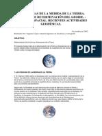 Las Ciencias de La Medida de La Tierra