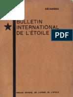 Bulletin International de L'Étoile N°11 Décembre 1928 par J. Krishnamurti