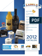 2012 PromoteSource Full Line Label Catalog