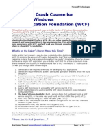 A 13-Step Crash Course for Learning (WCF)