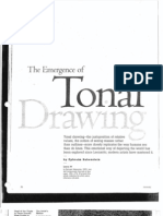 The Emergence of Tonal Drawing