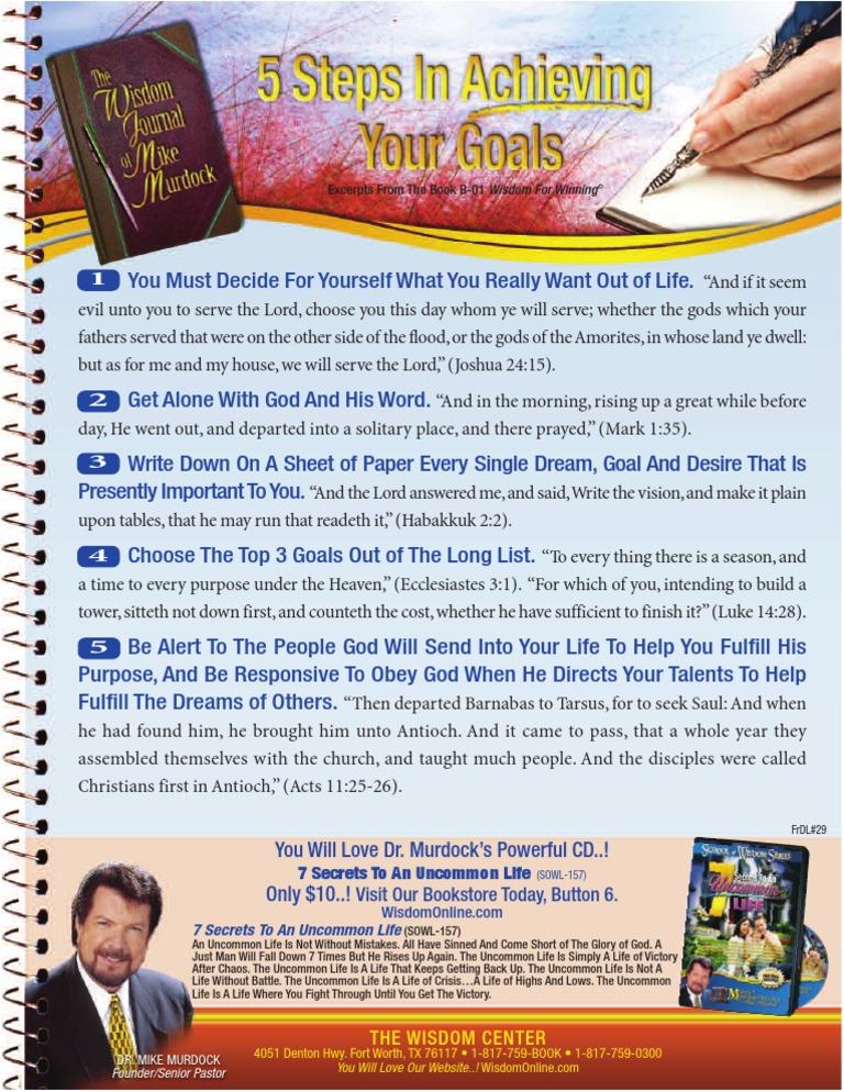 1001 Wisdom Keys Of Mike Murdock Pdf Books - sevenbs