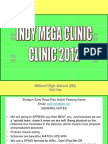 Indy Clinic 2012