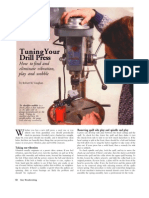 Drill Press Tune Up