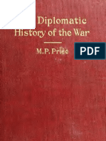 Price Diplomatic History of the War 2th Edition