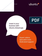 Ubuntu Advantage Services Guide_English