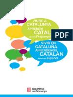 """""""Viure a Catalunya. Aprenem català des de l'espanyol"""""""
