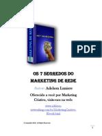 7 Segredos Do Marketing de Rede