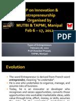 Types of Entreprneurs