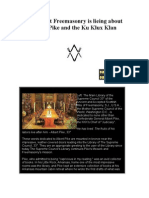 Albert Pike and the Ku Klux Klan