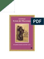 Althusser Louis Crisis Del Marxismo