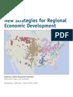 2050 Report Regional Economic Development 2009