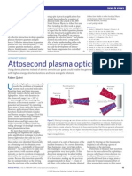 Fabien Quéré- Attosecond plasma optics