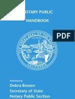 Notary Public Handbook-california