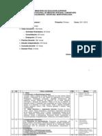 P1 Morfofisiología I curso 2011-2012