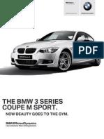 Ficha Tecnica BMW 335iA Coupe M Sport Automatico
