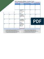 February 2012 SW Calendar