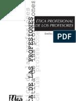 Etica de Los Profesores