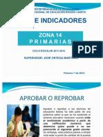 INDICADORES presentación 7 de febrero 2012