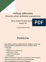 Presentacion Politicas Editoriales Biomed