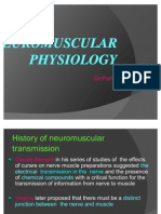 Neuromuscular Psysioloy Ppt