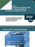 Service Oriented Network Architecture