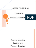 Process Planning Lesson 1