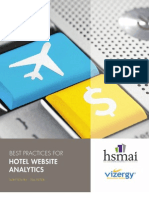 Best Practices for Hotel Website Analytics