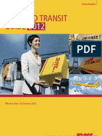 Dhl Rate and Transit Guide Uk 2012