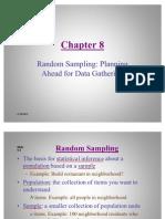 Statistics- Random Sampling
