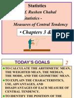 Statistics Cental Tendency