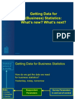 Getting Data for Business Statistics