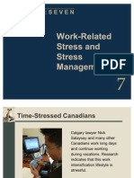Work-Related Stress and Stress Management - Copy