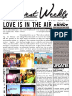 WHM Weekly Newsletter -  12 February 2012