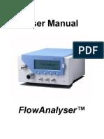 800.022.001 User Manual FlowAnalyser V1.9