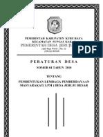 PERDES LPMD 2010(Revisi)