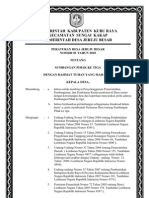 Perdes Sumbangan Pihak Ke-tiga (Revisi)