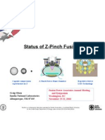 Craig Olson- Status of Z-Pinch Fusion