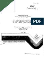 J. Trebes et al- Progress Report on the Lawrence Livermore National Laboratory Soft X-Ray Laser Program